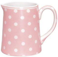 Schenkkan Naomi roze 0.5 liter [STWjugnao150,5L06] : GreenGate, Deens serviesgoed en lifestyle online van GreenGate om verliefd op te worden bij webshop / webwinkel Billie Design, zoals servies, quilts en woonaccessoires.