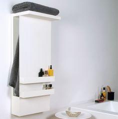 Warm Fuzzies: Elegant Sculptural Bathroom Towel Warmers - http://www.decorationarch.com/decoration-ideas/warm-fuzzies-elegant-sculptural-bathroom-towel-warmers.html