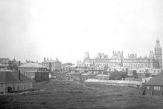 La colline Parlementaire en 1907