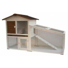 Poulailler ou clapier  en bois 140 x 65 x 100 cm  160 euros (-35%)