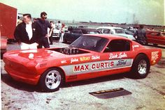 Max Curtis Ford Mustang Funny Car