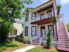 A really neat one in town a couple of blocks from beach. Galveston House Rental: Large Historical Home In Great Location Near Beach And Pleasure Pier! | HomeAway