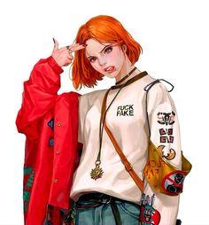 Manga Girl, Anime Art Girl, Digital Art Girl, Dope Art, Character Drawing, Aesthetic Art, Female Characters, Cartoon Art, Character Inspiration