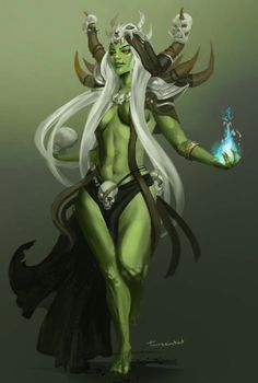 Female orc. SXY ghost GC phantom Itama green hood