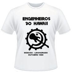 Camiseta Engenheiros do Hawaii Turnê Moscou/Leningrado 1989 - JR Camisetas