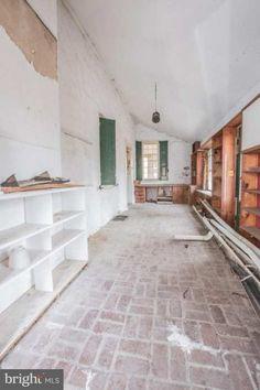Wilmington, DE - $345,000 - Old House Dreams Old Wooden Doors, Old Doors, Brick Flooring, Hardwood Floors, Old Stone Houses, S Brick, Two Bedroom Apartments, Wide Plank, Old House Dreams