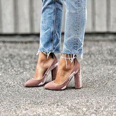 Velvet Shoes! Gorg!