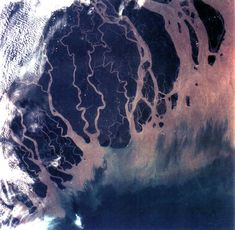.. Earth from Space → Photo of Ganges River Delta, Bangladesh, India