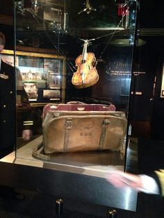 We bid farewell to Wallace Hartley's Violin, which he played on the great RMS Titanic: Sunday evening will be the last viewing July 28, 2013/ #Pigeon Forge.  Off you go to our sister ship in #Branson Missouri.  Adieu  from Pigeon Forge and The Titanic Museum Attraction crew!  Play on.
