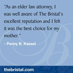 Read testimonials from families and residents of The Bristal Assisted Living. The Bristal offers independent living, assisted living, and memory support. North Hills, Attorney At Law, Assisted Living, Thankful, Memories, Reading, Kassel, Souvenirs, Word Reading