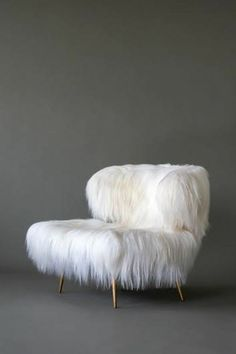 For Sale on - Woolly Bella, 2016 Kidassia Fur, hand-cast bronze x x Videre Licet's creation inspired by Italian design. Pricing is for chair in Luxury Furniture, Cool Furniture, Modern Furniture, Furniture Design, Deco Design, Küchen Design, Chair Design, Industrial Office Chairs, Hanging Chair From Ceiling