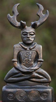 Cernunnos, wild god of the forest.   By Robert Clarke