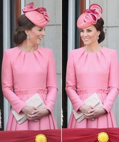Kate Middleton - Duchess of Cambridge-stunning @ 2017 Trooping the Colours for Queen's 91st bday