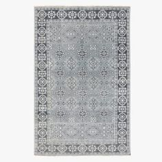 Casablanca Grey Wool Rug