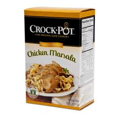 Crock Pot Chicken Marsala (6x6.25Oz)