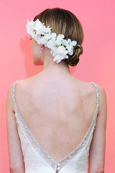 Classic, easy bridal hair ideas!