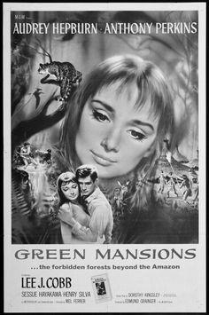 "Audrey Hepburn: ""green mansions"" 1959.."
