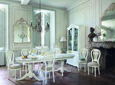 Chambre style gustavien meubles romantiques chambre - Decoration style gustavien ...