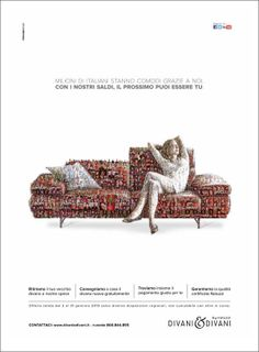 Mosaics in advertising by Charis Tsevis, via Behance
