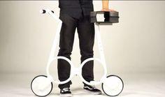 Impossible, bicicleta eléctrica plegable que pesa cerca de 5kg y puede transportarse en una mochila