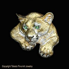 719b44f3b Cougar Pendant