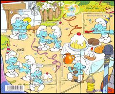 The Smurfs - 50th anniversary