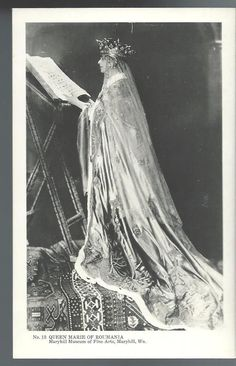 1920s Queen Marie of Roumania RPPC Real Photo Postcard Romania | eBay
