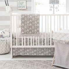 Modern Baby Bedding | Arrow Crib Bedding | Baby bedding