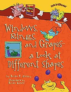 Windows Rings And Grapes Book About Shapes