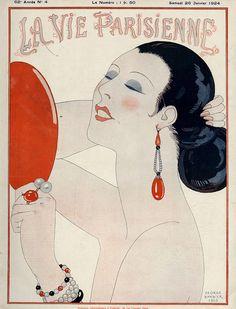 La Vie Parisienne  1919 - George Barbier