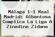 http://tecnoautos.com/wp-content/uploads/imagenes/tendencias/thumbs/malaga-11-real-madrid-albentosa-complica-la-liga-a-zinedine-zidane.jpg Malaga Vs Real Madrid. Málaga 1-1 Real Madrid: Albentosa complica la liga a Zinedine Zidane, Enlaces, Imágenes, Videos y Tweets - http://tecnoautos.com/actualidad/malaga-vs-real-madrid-malaga-11-real-madrid-albentosa-complica-la-liga-a-zinedine-zidane/