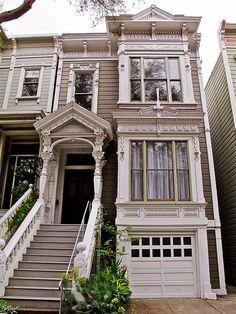 Victorian Pine Street, San Francisco