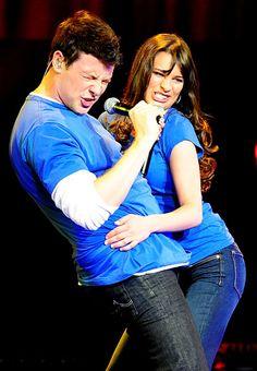 "Lea Michele and Cory Monteith's Sexy Romance: ""Push It"""