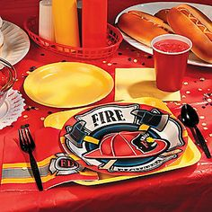 Firehouse Heroes Party Supplies