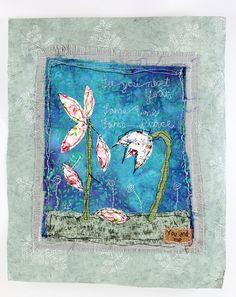 Nadelkunst /  Stoffcollage von mARTina haussmann auf DaWanda.com