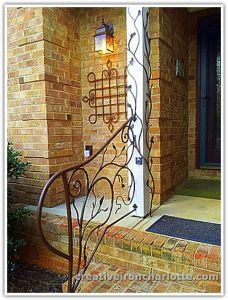 tree branch banisters | Commercial & Residential Iron Railings & Balconies....