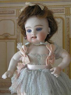 "AO 8.5"" 102 Kestner Wrestler Ballerina all bisque doll"