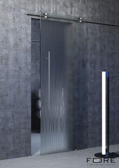 Drzwi szklane przesuwne Roads. Sliding glass door Roads,www.fore-glass.com, #drzwi #drzwiszklane #drzwiwewnetrzne #szklane #glassdoor #glassdoors #interiordoor #glass #fore #foreglass #wnetrza #architektura