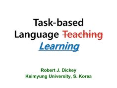tblllesson-planning by Robert Dickey via Slideshare