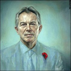 Tony Blair, Prime Minister of the United Kingdom from 1997 to 2007, by Jonathan Yeo