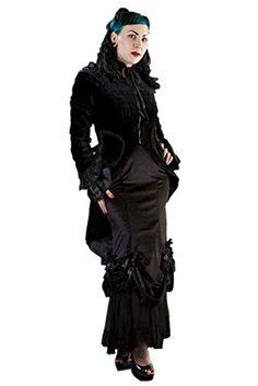 c39afc2e2ea Black Velvet Womens Pirate Coat * Click for Special Deals Pirate Costumes,  Adult Costumes,