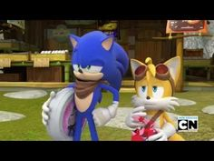 Sonic and Tails by TanyaTackett Underground Series, Sonic Underground, Sonic Boom Tails, Pierrot, Calvin And Hobbes, Anime, Action Movies, Fire Emblem, Tmnt