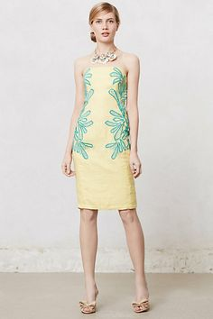 Suraja Pencil Dress #anthropologie