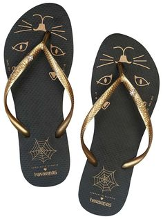 7fb5fcc6a470 Havaianas x Charlotte Olympia. Olympia ShoesFlat SandalsShoes ...