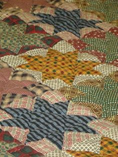 Old time country tradition! In a barn stars quilt! Bidding is only at $66; don't miss out!