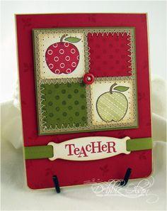 Teacher's Apple Gift Card (by debbie olson)