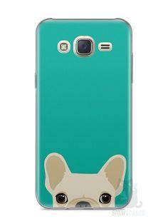 Capa Capinha Samsung J7 Cachorro Bulldog Francês #2 - SmartCases - Acessórios para celulares e tablets :)