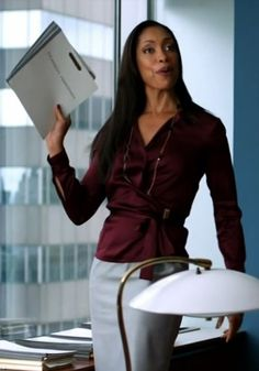 #women's office fashion #Jessica Pearson #Gina Torres