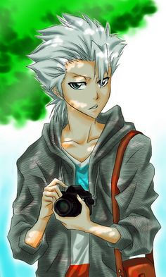 Toushirou Hitsugaya enjoys photography on the side.  :)