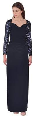 Lauren by Ralph Lauren Sequin Sleeve Jersey Column Gown. Ralph Lauren fashions. I'm an affiliate marketer. When you click on a link or buy from the retailer, I earn a commission.